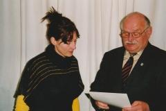Auszeichnung Alexandra Sprünken 25 Jahre Musikverein 09.03.2008 (7)