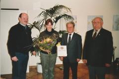 Auszeichnung Alexandra Sprünken 25 Jahre Musikverein 09.03.2008 (1)