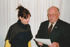 Auszeichnung Alexandra Sprünken 25 Jahre Musikverein 09.03.2008 (2)