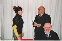 Auszeichnung Alexandra Sprünken 25 Jahre Musikverein 09.03.2008 (4)