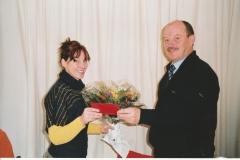 Auszeichnung Alexandra Sprünken 25 Jahre Musikverein 09.03.2008 (5)